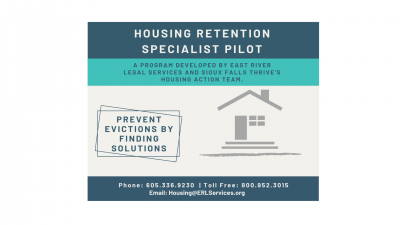 A program developed by ERLS and Sioux Falls Thrive's Housing Action Team